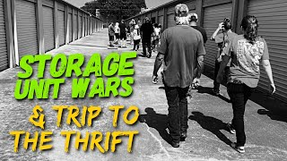 Storage Unit Auctions + TRIP TO THE THRIFT Shop | Make Money RESELLING on eBay