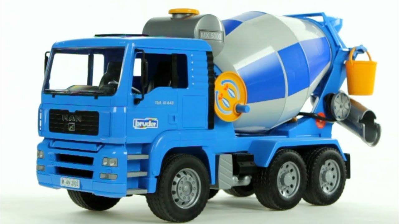 Mixer Truck Toy : Man cement mixer truck bruder ブルーダー manセメントミキサー