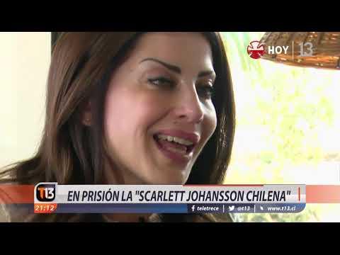 """En prisión la """"Scarlett Johansson chilena"""""""