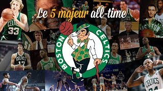 Celtics : le 5 majeur all-time de Boston