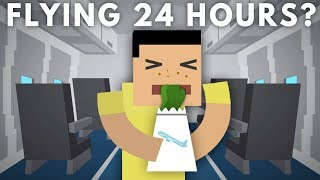 What Would a 24 Hour Flight Do To Your Body?