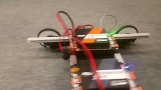 First robot and program / Team Belarus / FIRST global / REV