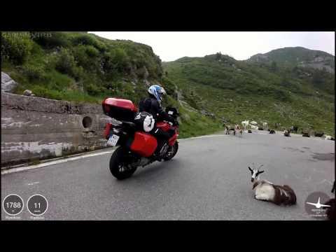 Alps 2016 on motorbike part 4 (San Marco, Splugen, San Bernardino, Nufenen)