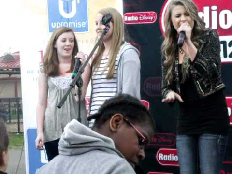 Tonight With You - Savannah Outen live 4-30-11