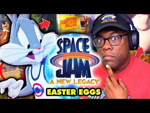 SPACE JAM A New Legacy BREAKDOWN! So Many Easter Eggs! - Black Nerd Comedy