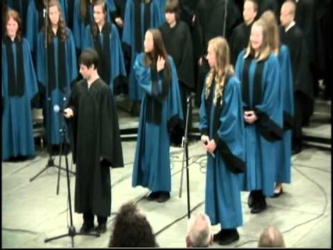 La Center Middle School 2013 Veteran's Day Concert - Outake