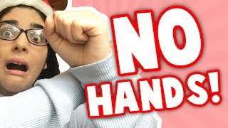 PLAYING ROBLOX WITHOUT USING MY HANDS CHALLENGE! | Roblox Funny Moments