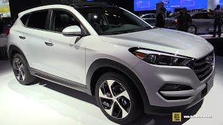 2016 Hyundai Tucson Limited 1.6T AWD Exterior and Interior Walkaround 2015 New York Auto Show