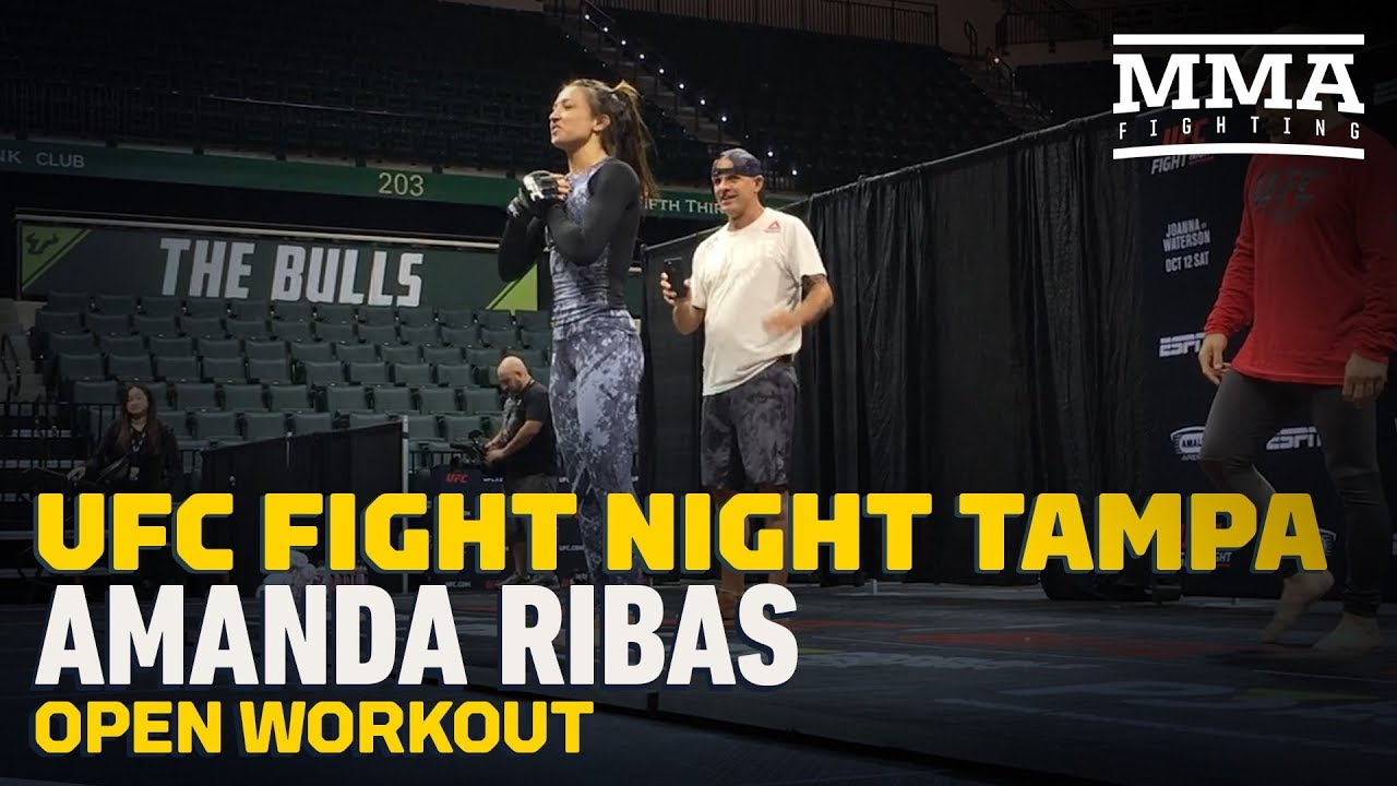 UFC Tampa: Amanda Ribas Open Workout Highlights - MMA Fighting