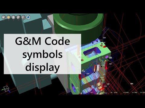 G&M code tool paths tag Display | Tutorial