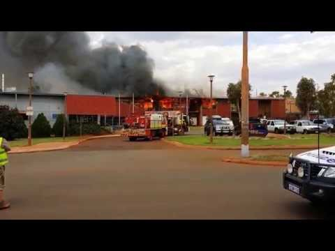 Newman Senior High School Fire