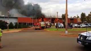 Newman Senior High School Fire