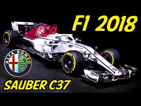 F1 Alfa Romeo Sauber C37 Analysis - Lets Talk F1 2018