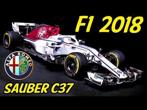 F1 Alfa Romeo Sauber C37 Analysis  Lets Talk F1 2018