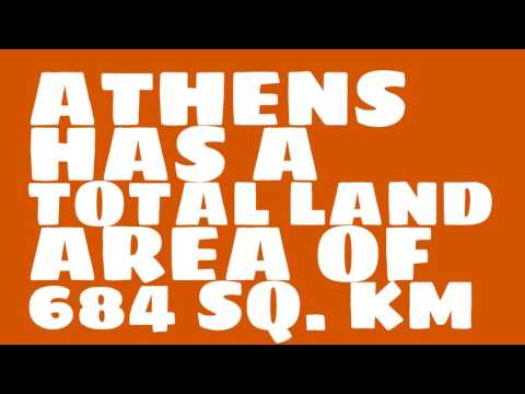 How does the population of Athens rank?