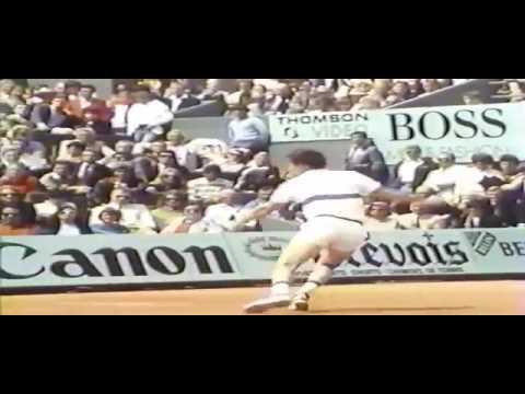 Roland Garros avec John McEnroe