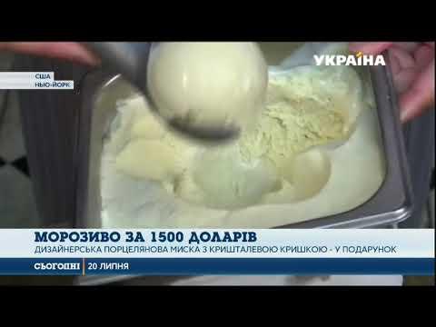 Сегодня: В ресторані Нью-Йорка подають морозиво за $1500