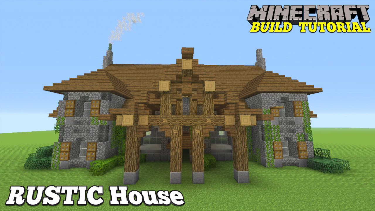 Simple minecraft mansions the image kid for Simple mansion