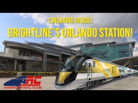 Brightline's Orlando Airport