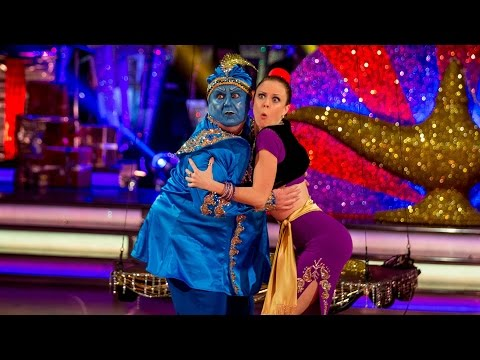 Russell Grant Cha Chas to 'Could It Be Magic' - Strictly Come Dancing Christmas Special 2014 - BBC