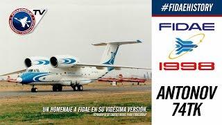 INCREIBLE Demostración aérea de Antonov An-74tk en FIDAE 1998, Los Cerrillos