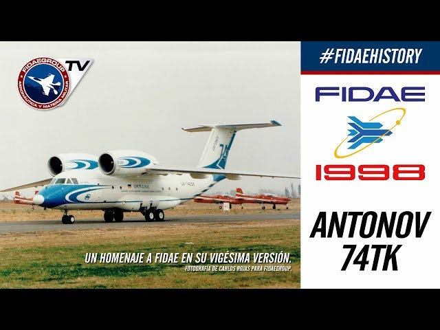 Antonov An-74tk en FIDAE 1998, Los Cerrillos, Incredible demostration