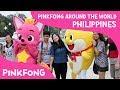 Pinkfong Around the World! | Manila, Philippines | Go #BabySharkChallenge🙌🏼  | Pinkfong