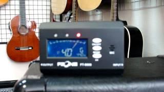 Як налаштувати гітару по тюнеру - www.gitara.in.ua