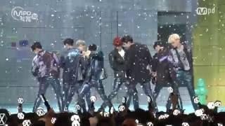 Gambar cover [MPD직캠] 엑소 직캠 럭키원 Lucky One EXO Fancam @엠카운트다운_160609