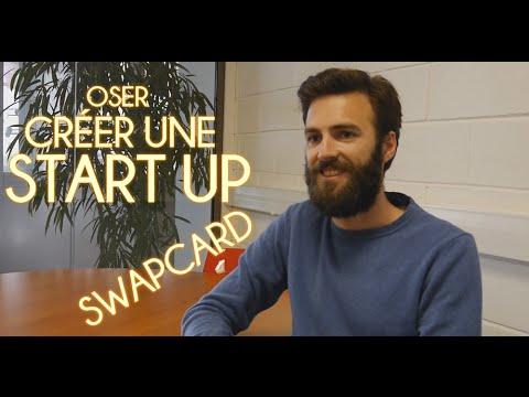 Ils ont osé... créer une startup et lever 500000€: SwapCard