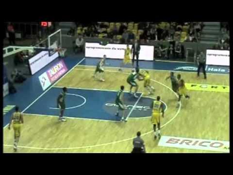 Chris Burgess Highlights Basketball Zastal vs Asseco Prokom