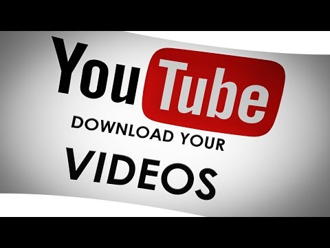 DOWNLOAD YOUR VIDEOS On YouTube Instructions