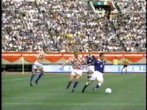 日本vsクロアチア キリンカップサッカー'97① 国立競技場