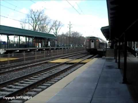 AMTRAK P42 #125 on Pennsylvanian Train #42 to Philadelphia 3-19-2013