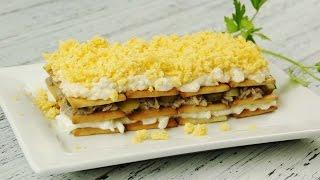 Закусочный торт из крекеров - Рецепты от Со Вкусом