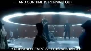 Muse time is running subtitulada al español (Video Official)