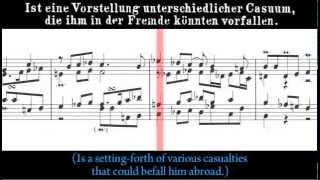 BWV 992 - Capriccio sopra la lontananza del suo fratello dilettissimo (Scrolling)