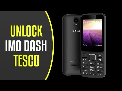 How To Unlock Tesco IMO Dash By Unlock Code.