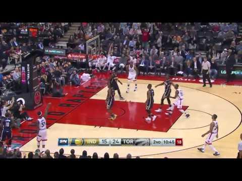 Indiana Pacers vs Toronto Raptors   April 8, 2016   NBA 2015-16 Season