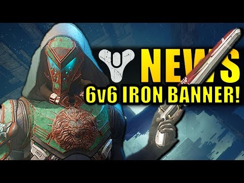 Destiny 2 News: NEXT IRON BANNER! 6v6! Rumble! | Huge Division Event! thumbnail