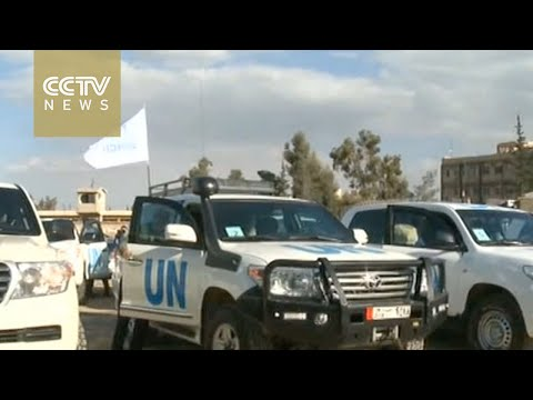 Second installment of UN aid reaches Syria