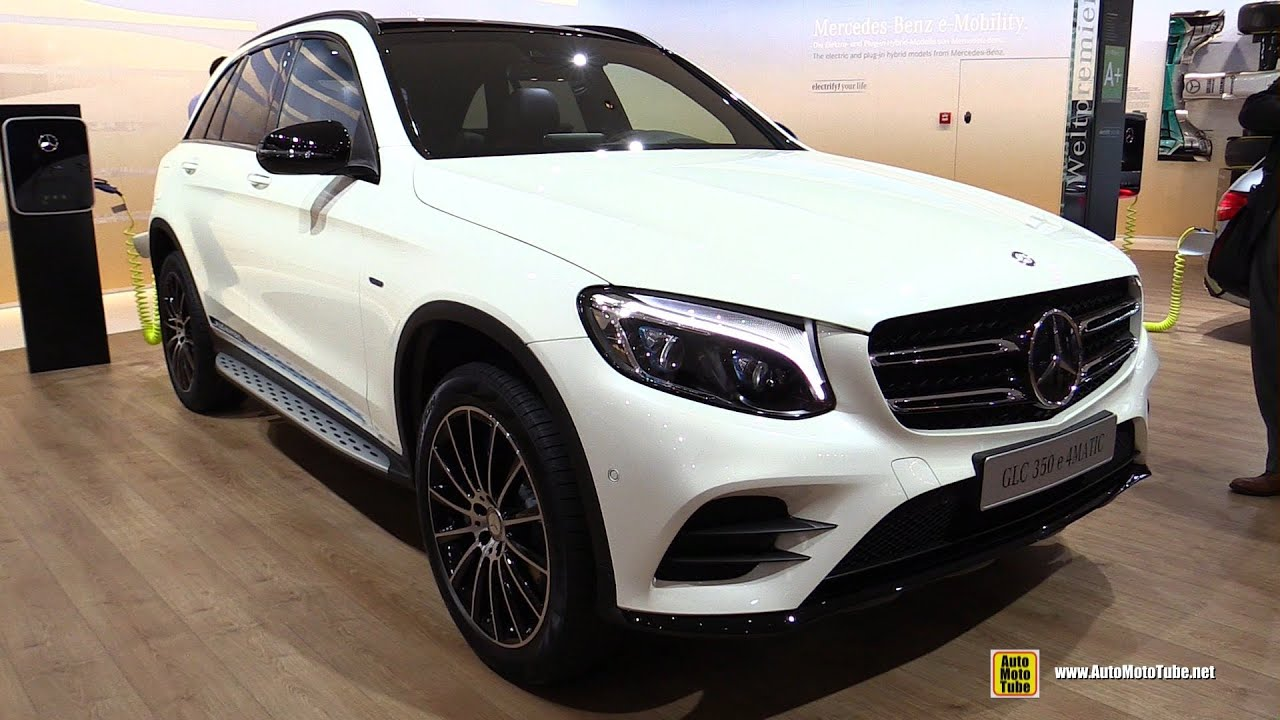 2016 mercedes glc 350e 4matic plug in hybrid exterior. Black Bedroom Furniture Sets. Home Design Ideas