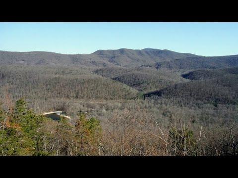 Hiking Torry Ridge at Sherando Lake in Augusta County, Virginia