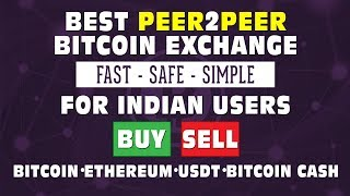 Remitano Best Peer 2 Peer Crypto Bitcoin Exchange for Indian users. Buy Sell Bitcoin using INR