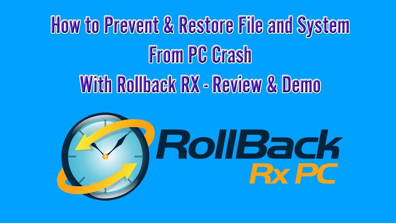 rollback rx professional 11.1