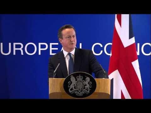#UKinEU: UK-EU deal - Cameron announces achievements