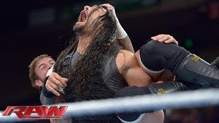 Repeat youtube video CM Punk vs. Roman Reigns: Raw, Jan. 6, 2014