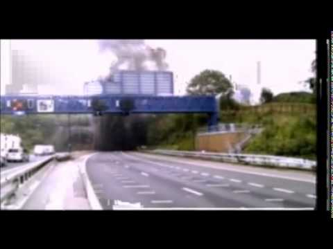 Brynglas Tunnel Lorry Fire - ITV News - 26-07-11