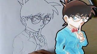 Let´s Draw Conan Edogawa