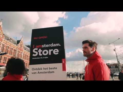 Opening of the I amsterdam Store
